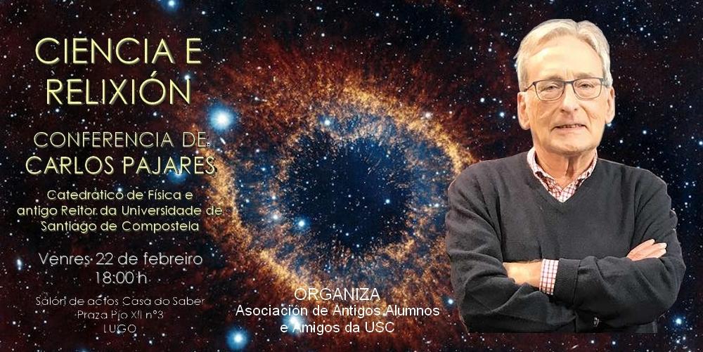 carlos_pajares Vales - Conferencia Ciencia y Religión