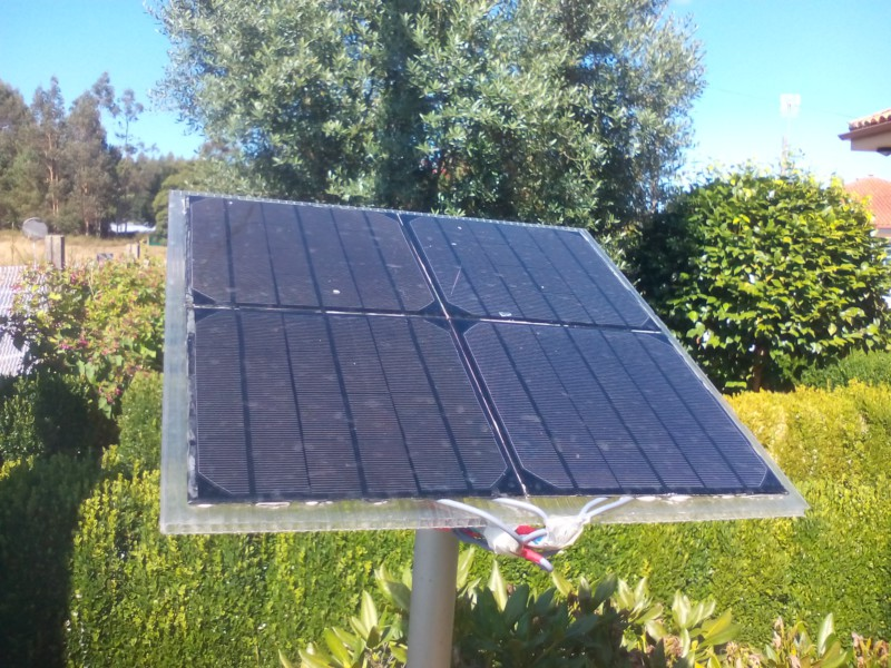 Fonte solar for Panel solar pequeno